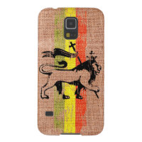 King lion galaxy s5 cover