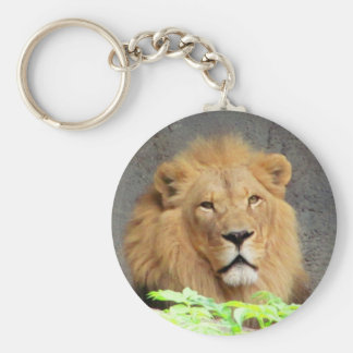 King Lion Mane Man of the Pride Keychain