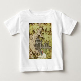 King Looks up into Giant Tree Baby T-Shirt