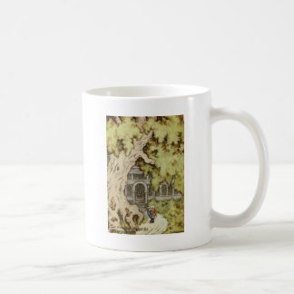 King Looks up into Giant Tree Coffee Mug