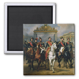 King Louis-Philippe (1773-1850) of France and his Magnet