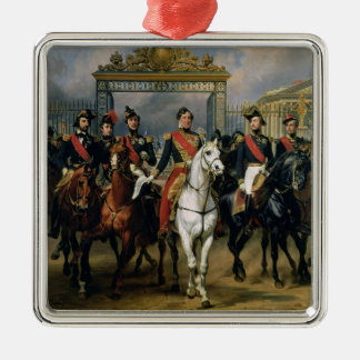King Louis-Philippe (1773-1850) of France and his Metal Ornament