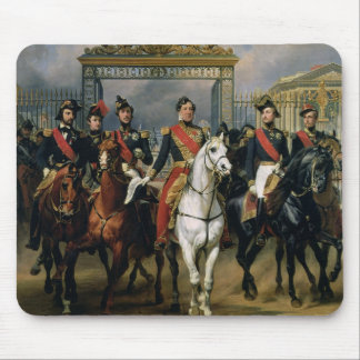 King Louis-Philippe (1773-1850) of France and his Mouse Pad