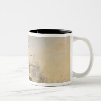 King Louis-Philippe  Disembarking at Two-Tone Coffee Mug