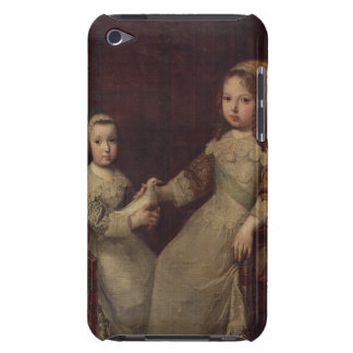 King Louis XIV (1638-1715) as a child with Philipp Barely There iPod Case
