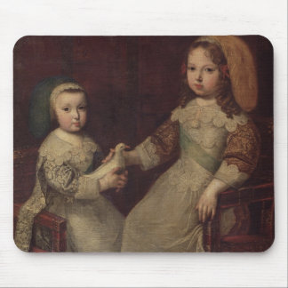King Louis XIV (1638-1715) as a child with Philipp Mouse Pad