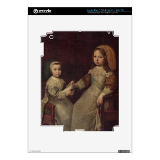 King Louis XIV (1638-1715) as a child with Philipp Skins For iPad 3