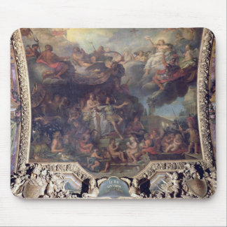 King Louis XIV  Governing Alone Mouse Pad