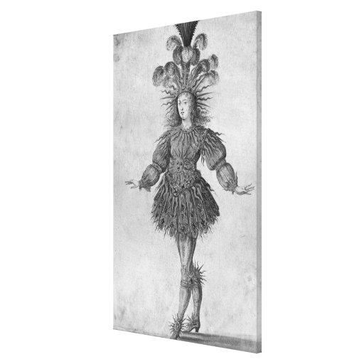 King Louis XIV of France Canvas Print