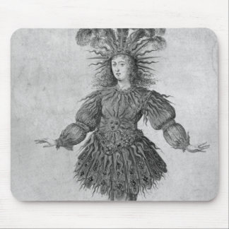 King Louis XIV of France Mouse Pad