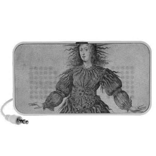 King Louis XIV of France Mp3 Speakers