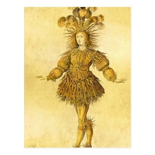 King Louis XIV of France Postcard