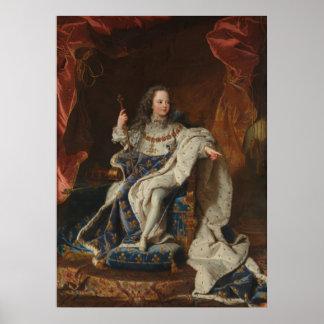 King Louis XV as a Child by Riqaud Print