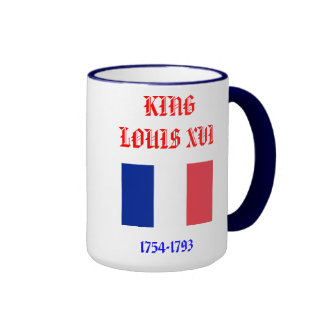 King Louis* XVI Coffee Cup Ringer Coffee Mug