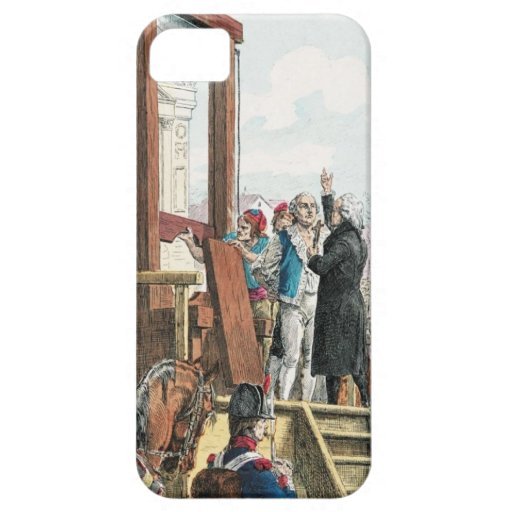 King Louis XVI Execution iPhone 5 Cover