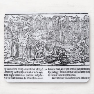 King Malcolm of Scotland Mouse Pad