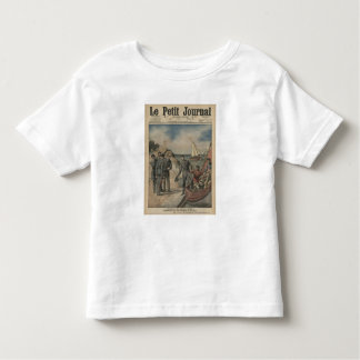 King Manuel II of Portugal bidding farewell Toddler T-shirt
