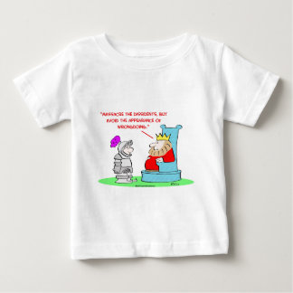 king massacre dissedents appearance wrongdoing baby T-Shirt