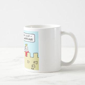 king masses huddling coffee mug