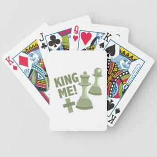 King Me Bicycle Playing Cards