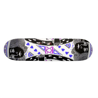 King Me - Midnight King Of Hearts Skate Board