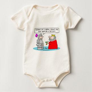 king medal knight tax cut taxes baby bodysuit