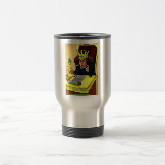 King Midas Catches Common Gold Funny Gifts Tees Travel Mug