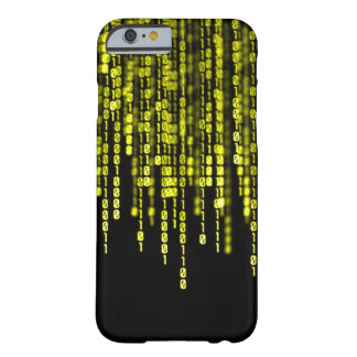 King Midas Gold Binary Code iPhone Barely There iPhone 6 Case