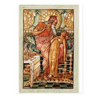 King Midas Golden Touch Postcard