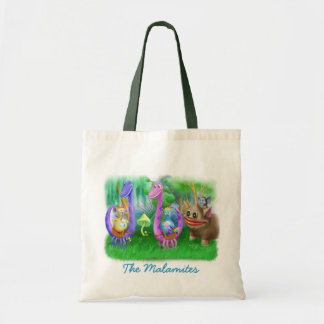 King Monty and the gang in Brimlest Forest Canvas Bags