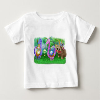 King Monty and the gang in Brimlest Forest Infant T-shirt