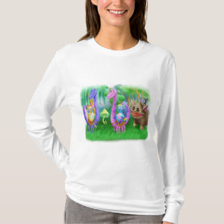 King Monty and the gang in Brimlest Forest T-Shirt