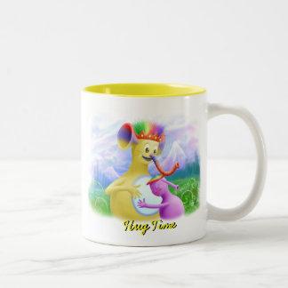 King Monty Getting A Hug Coffee Mugs