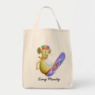 King Monty on Skate Board Bags