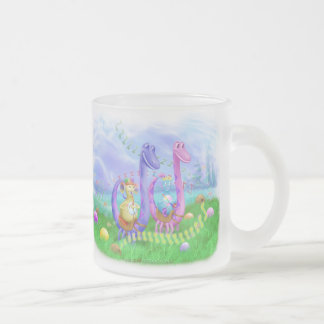 King Monty, Prince Marvin, Sammy & Tammy Frosted Glass Coffee Mug