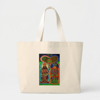 King n Queen  Large Tote Bag