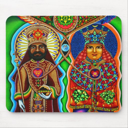 King n Queen  Mouse Pad