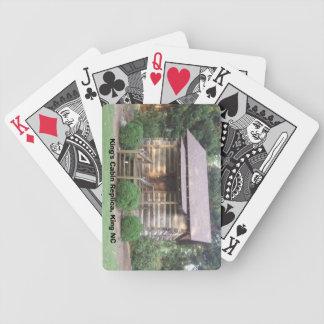 King NC King's Cabin Black & White Face  Card Set