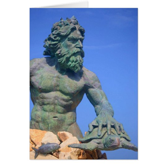 King Neptune by Shirley Taylor Card