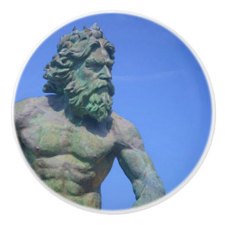 King Neptune by Shirley Taylor Ceramic Knob