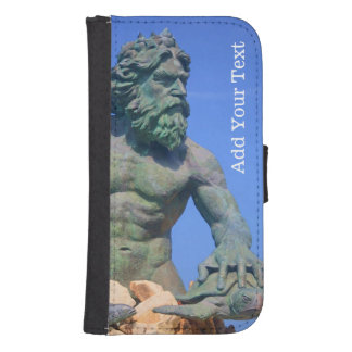 King Neptune by Shirley Taylor Galaxy S4 Wallet Case