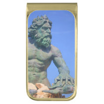King Neptune by Shirley Taylor Gold Finish Money Clip