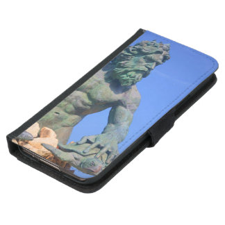 King Neptune by Shirley Taylor Wallet Phone Case For Samsung Galaxy S5