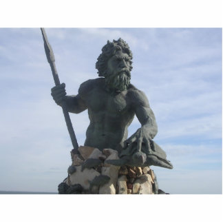 King Neptune keychain Photo Sculpture Keychain