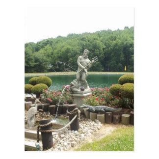 King Neptune of the Garden Postcard