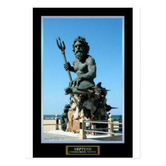 King Neptune Postcard