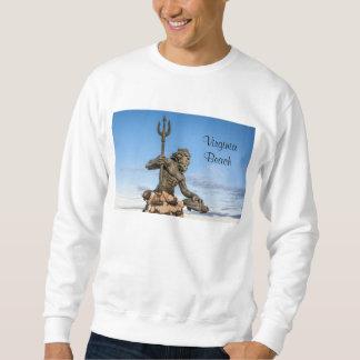 King Neptune Statue Sweatshirt