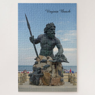 King Neptune Virginia Beach Jigsaw Puzzle