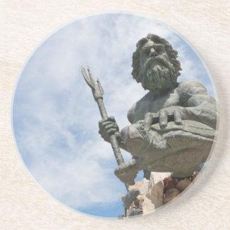 King Neptune Virginia Beach Statue Coaster