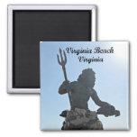 King Neptune, Virginia Beach, Virginia Fridge Magnet